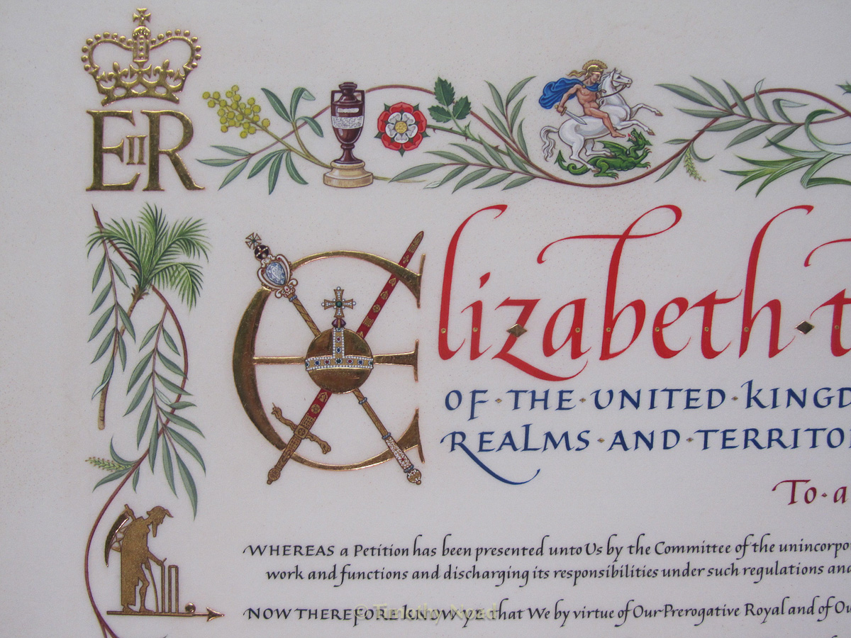 MC Charter detail 2 royal charters