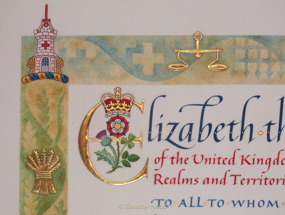 Insurers Charter detail royal charters