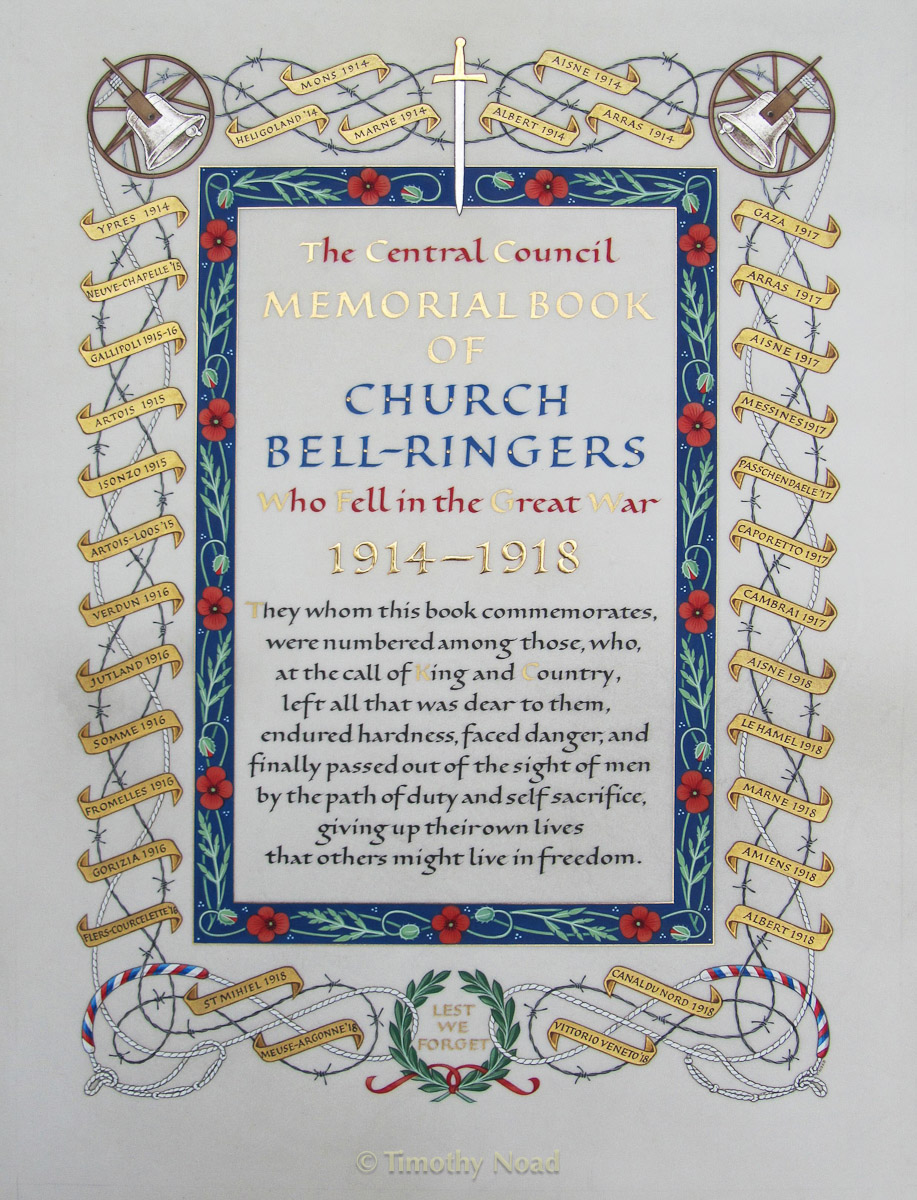 Kingfisher Bell Ringers commissions