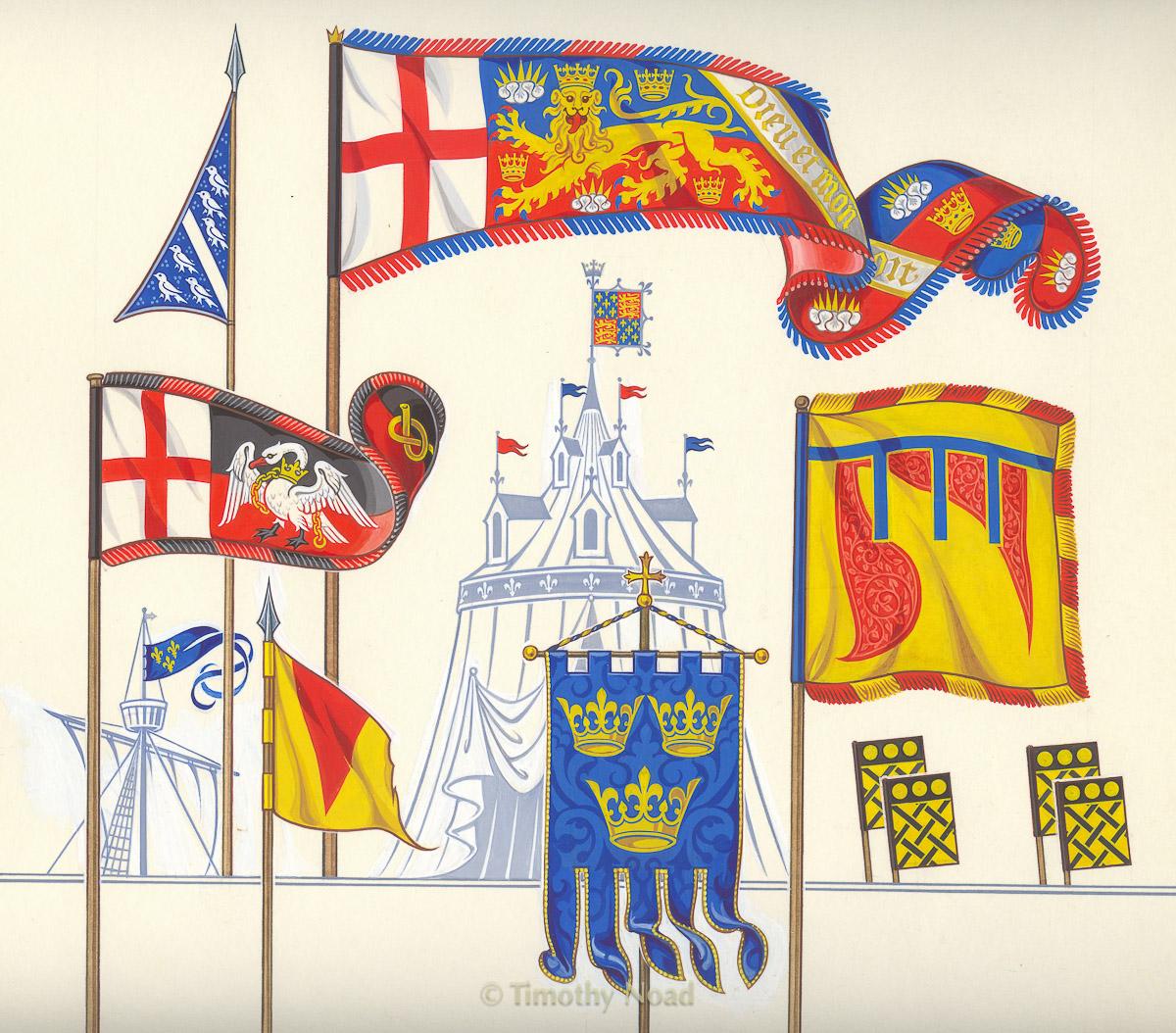 Lovett book heraldic flags heraldry