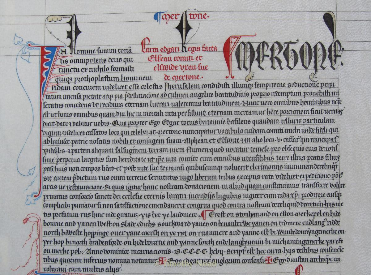 Merton Charters historical