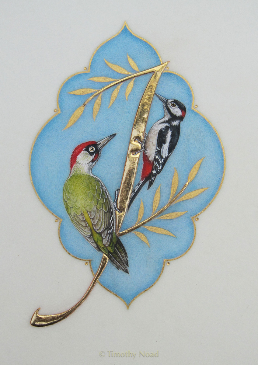 Woodpeckers miniatures