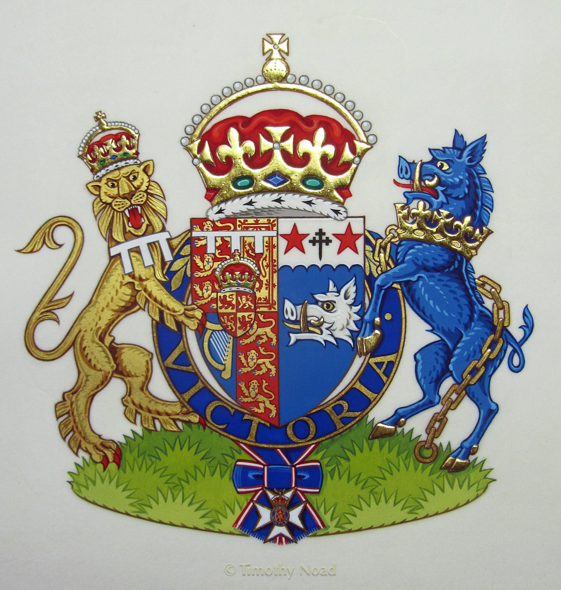 Arms of HRH The Duchess of Cornwall heraldry