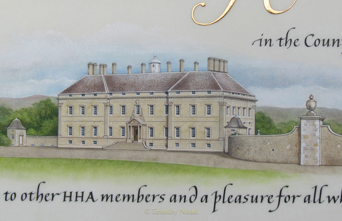 Kinross House detail commissions