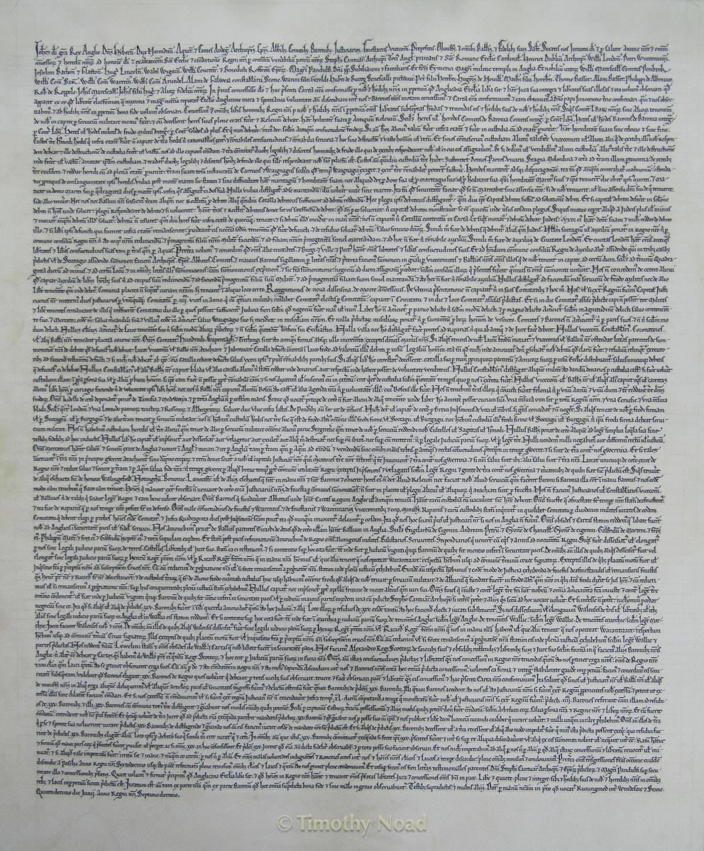 Magna Carta historical