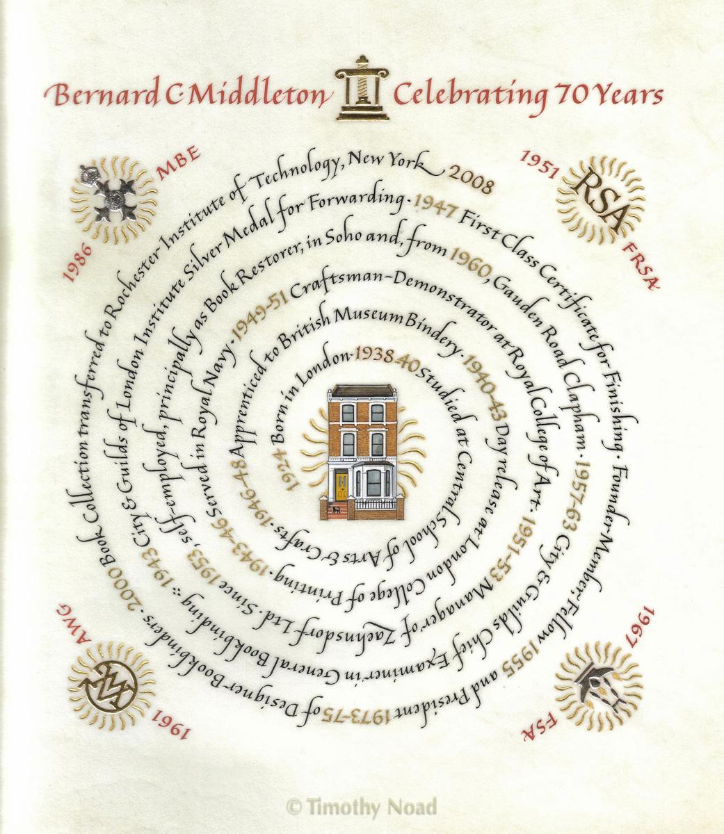 Bernard C Middleton commissions